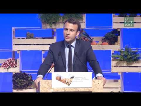 Quand Macron compare un agriculteur avec un employeur qui adorerait licencier les gens au grand oral de la FNSEA