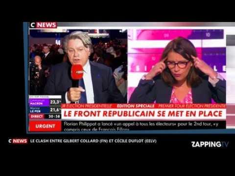 Élections présidentielles 2017 : le violent clash entre Gilbert Collard et Cécile Duflot (vidéo)