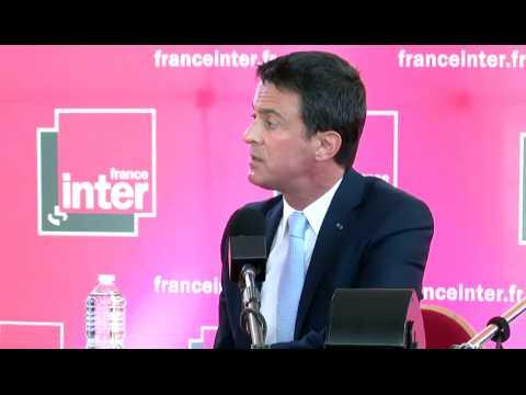 """Valls : """"Pour le PS, c'est la fin d'une histoire"""""""