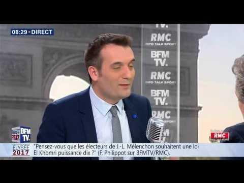 """Macron à La Rotonde après les résultats du 1er tour: """"Le  Fouquet's devait être fermé"""", dit Philippot"""
