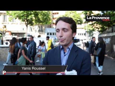 Présidentielle : à Marseille, les militants d'Emmanuel Macron ont déjà recommencé à tracter