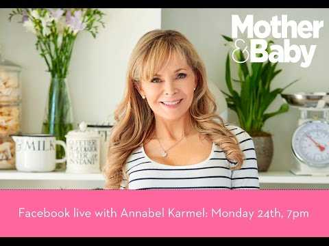 We're LIVE with baby food expert Annabel Karmel