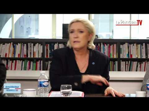 Marine Le Pen : « Je n'entretiens pas de relations avec mon père »