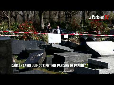Pantin : Un camion dégrade une dizaine de tombes juives