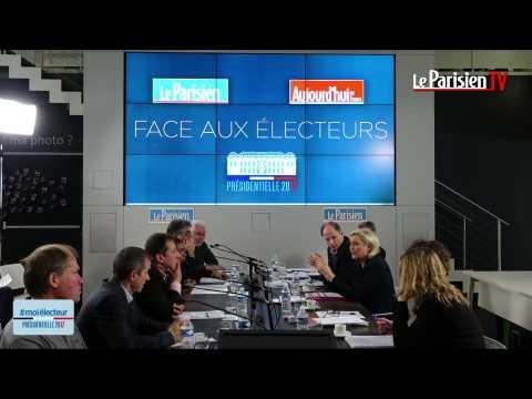 Marine Le Pen tacle Fillon, un «homme d'argent», et Macron, un «one shot»
