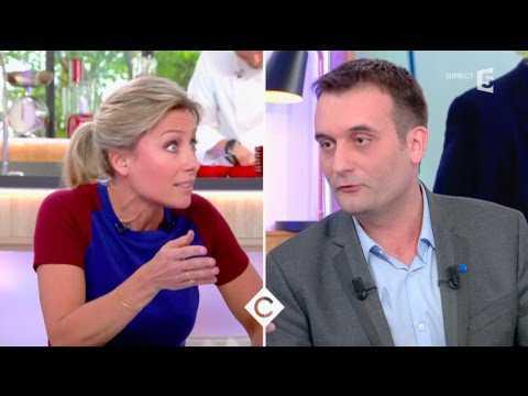 Nouveau clash entre Anne-Sophie Lapix et Florian Philippot - ZAPPING TÉLÉ DU 12/04/2017