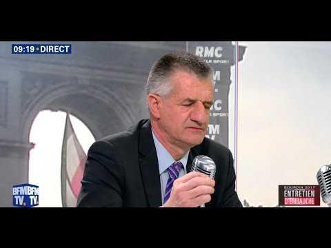 Jean Lassalle pousse la chansonnette chez Jean-Jacques Bourdin - ZAPPING TÉLÉ DU 14/04/2017