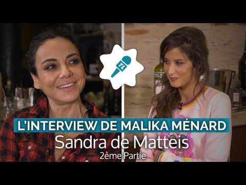 "Sandra de Matteis, fan du look de Shera Kerienski : ""C'est comme Madonna"""