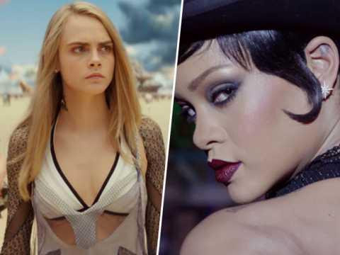 Valérian : Cara Delevingne et Rihanna sont les bombes du nouveau film de Luc Besson !