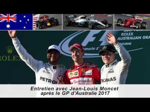 Entretien avec Jean-Louis Moncet après le GP d'Australie 2017