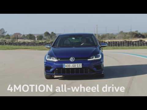 The new Volkswagen Golf R Driving Video Trailer | AutoMotoTV