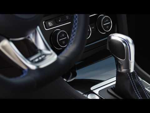 The new Volkswagen Golf GTE - Interior Design Trailer | AutoMotoTV