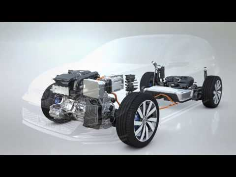 The new Volkswagen Golf GTE - Driving Video and Technology | AutoMotoTV