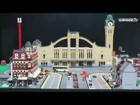 La Foire expo de Rouen accueille une exposition de Lego