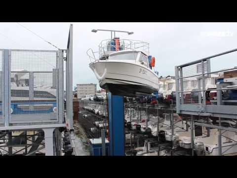 Depuis son ouverture fin 2015, le port à sec de Dieppe a séduit plus de 160 plaisanciers !