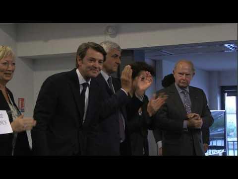 A Rouen, Baroin tape sur Macron