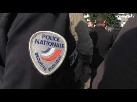 Les policiers en colère après le drame de Viry Châtillon