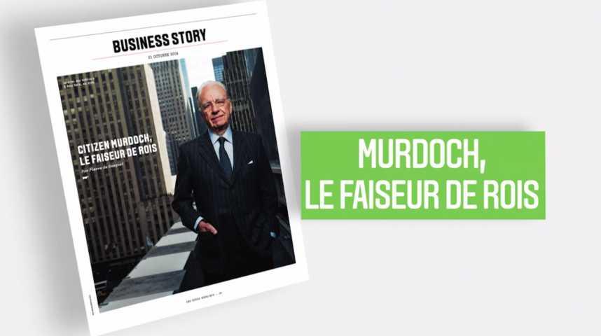 Illustration pour la vidéo Les Echos Week-End : Citizen Murdoch, le faiseur de rois