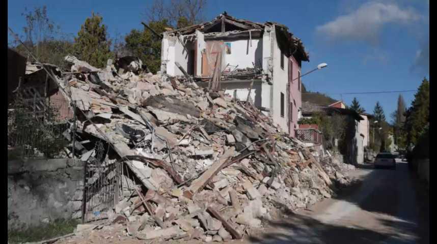 Illustration pour la vidéo Séismes : l'Italie mesure les dégâts