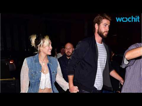 Miley Cyrus Addresses Her Engagement Ring From Liam Hemsworth