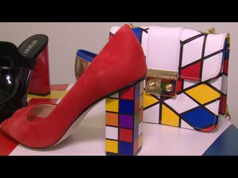Shoe trends: platforms, colour block and childish patches for 2017