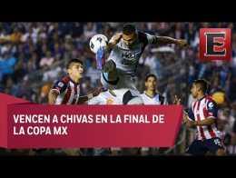Querétaro recibe trofeo de la Copa Mx / Final Copa Mx