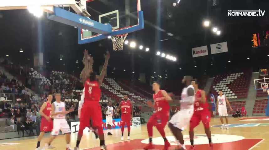 Basket-ball - Pro B : Rouen a fini par perdre pied face à Denain