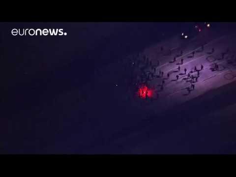 Anti-Trump protest becomes a 'riot' in Portland, Oregon