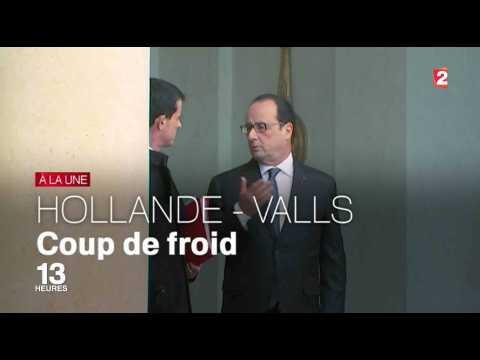 Gros clash entre Manuel Valls et François Hollande - ZAPPING ACTU DU 21/10/2016