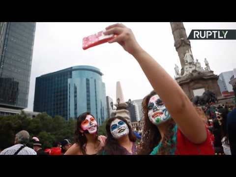 Get Into the Halloween Spirit with Mexico City's Parade of the Catrinas