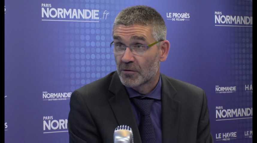 Eco Normandie - Geoffroy Colin, président de Unicem Normandie