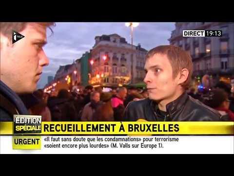 attentats en belgique un jeune belge et le journaliste. Black Bedroom Furniture Sets. Home Design Ideas