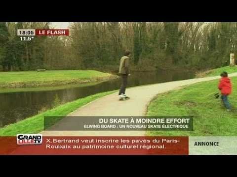 Du skate moindre effort sur orange vid os - Invention du skateboard ...