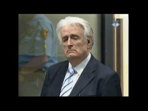 Karadzic gets 40 years for war crimes and genocide