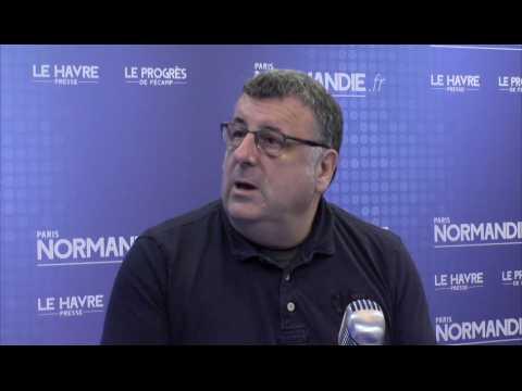Thierry Valette, organisateur du Salon du disque de Rouen