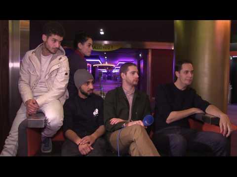 """Grand Corps Malade et Mehdi Idir, réalisateurs du film """"Patients"""""""