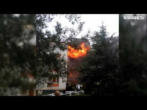 Explications sur les deux explosions de Saint Aubin lès Elbeuf