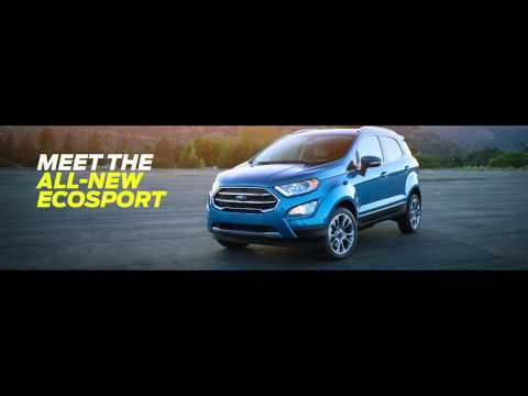 Meet the All-new Ford EcoSport | AutoMotoTV
