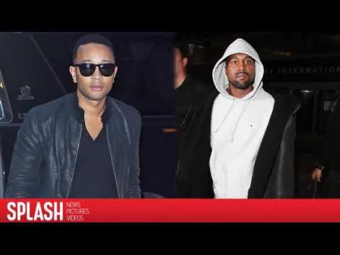 John Legend Saw Warning Signs Before Kanye West was Hospitalized