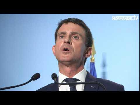 Le presque candidat Valls à Rouen