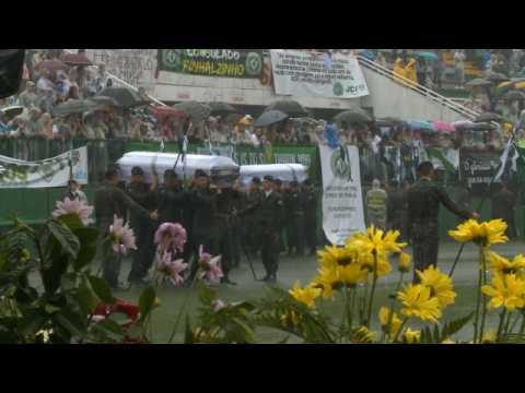 Chapecoense - Ultime hommage à l'Arena Conda