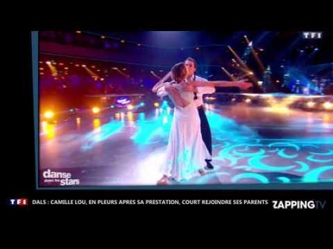 DALS 7 : Camille Lou, en pleurs après sa prestation, court dans les bras de ses parents (vidéo)