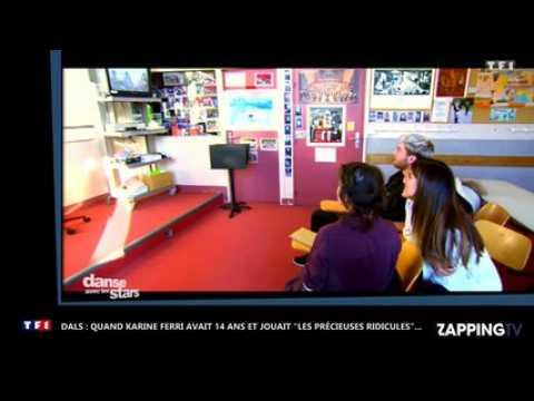 """DALS 7 : Quand Karine Ferri avait 14 ans, et jouait """"Les Précieuses ridicules"""" de Molière... (vidéo)"""