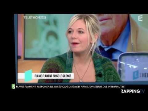 Flavie Flament responsable du suicide de David Hamilton selon des internautes, elle réagit (Vidéo)