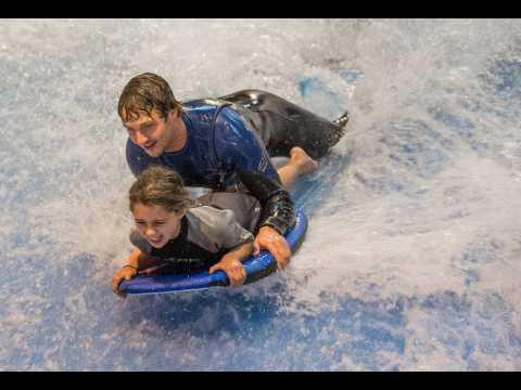 Surf au salon nautique