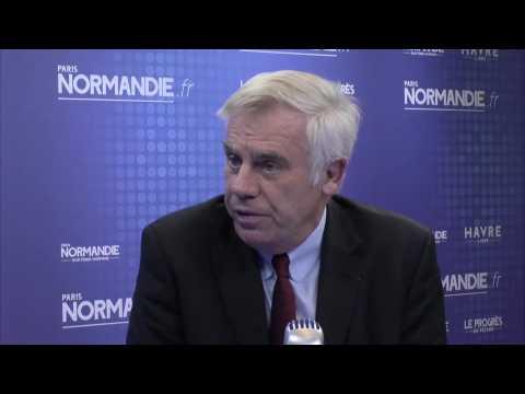 Eco Normandie - Vianney de Chalus, président de la CCI Normandie