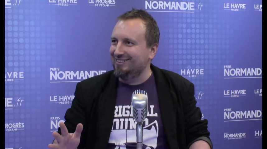 Sébastien Poncelet, créateur de l'application Godblessyoo