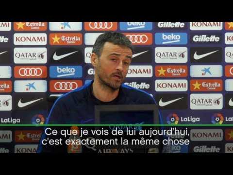 """Barça - Enrique : """"Neymar, un joueur crucial"""""""