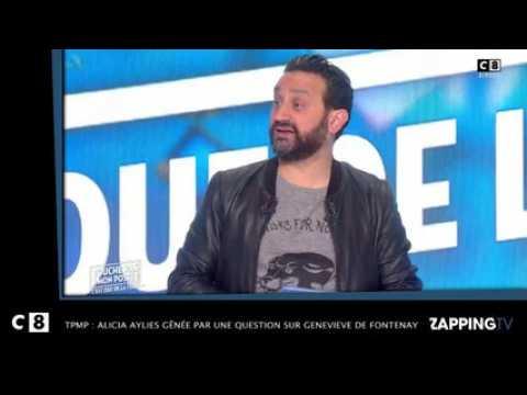 TPMP - Miss France 2017: Alicia Aylies gênée par une question sur Geneviève de Fontenay