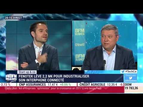 Start-up & Co: Fenotek, l'entreprise à l'origine de l'interphone du futur - 18/01
